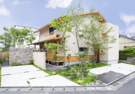 福岡県久留米市「さわやかな風が通る四季の庭」外構工事