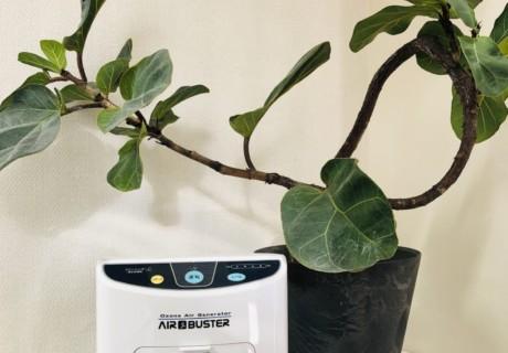 感染予防対策として『オゾン発生器』設置しました!!